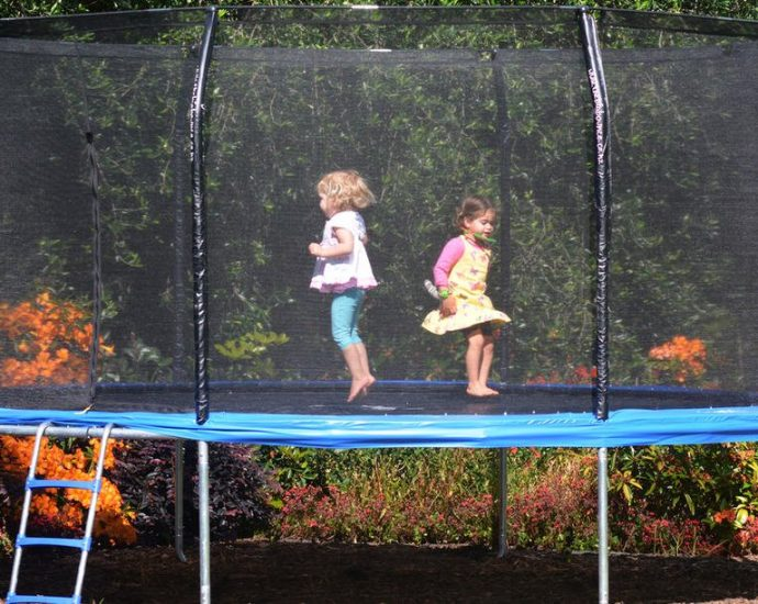 The Ideal Kids Trampoline Up For Sale
